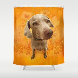 PARKER POSEY (tang) puffy cloud series Shower Curtain