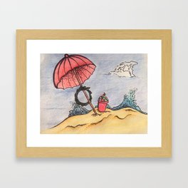 Christmas in July Framed Art Print