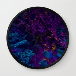 Corals Wall Clock