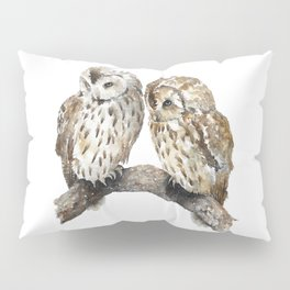 Two owls Pillow Sham