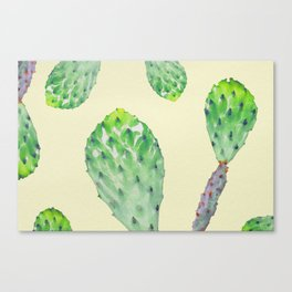 Zero Gravity Cacti V1 Canvas Print