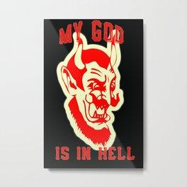My God Metal Print