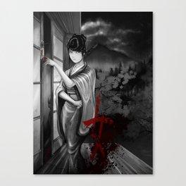 Kunoichi 2 of 4 Canvas Print