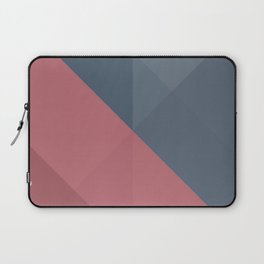 Blue and pink geometry Laptop Sleeve