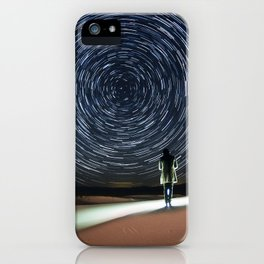 Sand Dunes Star Trails iPhone Case