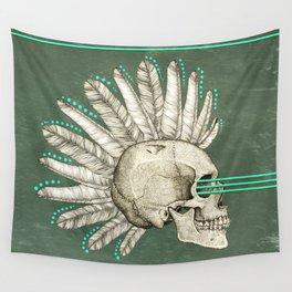 Indian skull Wall Tapestry