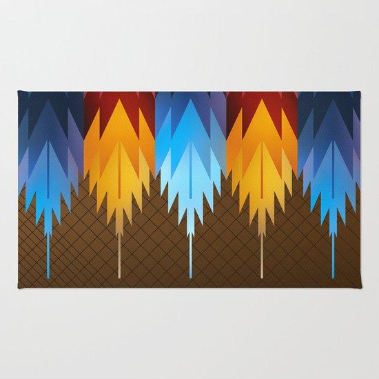 Navajo Fire & Ice Rug