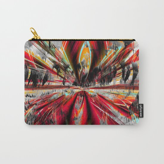 stormy weather in autumn Carry-All Pouch