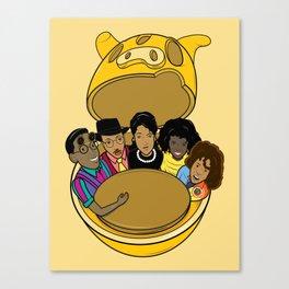 A Different World Canvas Print