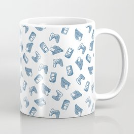 Arcade in White and Blue Coffee Mug