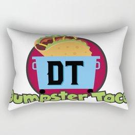 Dumpster Taco Rectangular Pillow
