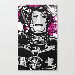 Pain. Canvas Print