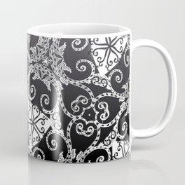 Candy Cane Tangle - Reversed Coffee Mug