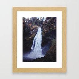 Secret Oregon Waterfall Framed Art Print