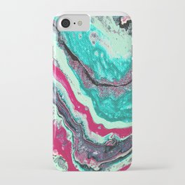 Crystalline Waves iPhone Case
