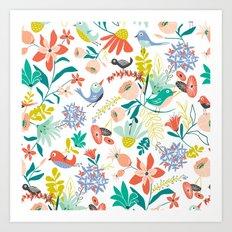 Gracie's Garden Art Print