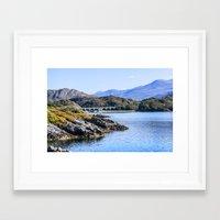 nan lawson Framed Art Prints featuring Loch nan uamh Viaduct 2 by Chris Thaxter