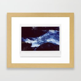 Instant Waves Framed Art Print