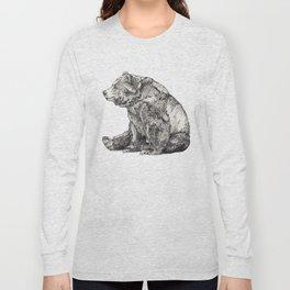Bear // Graphite Long Sleeve T-shirt