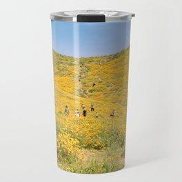Lake Elsinore poppy fields Travel Mug