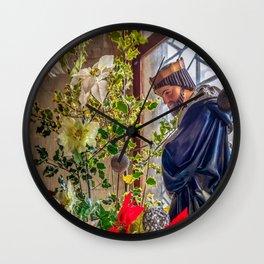 Christmas Church Display Wall Clock