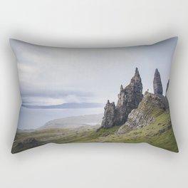 The Old Man of Storr isle of skye Rectangular Pillow