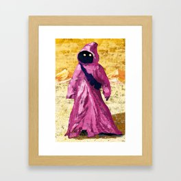 Pink Jawa Framed Art Print
