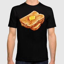 Toast Pattern T-shirt