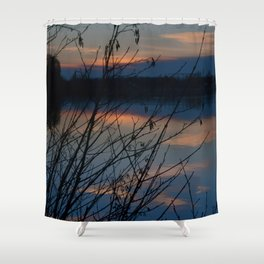Concept Water reflection Shower Curtain