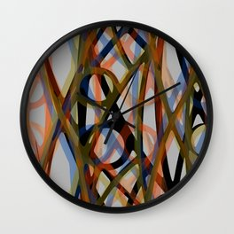 Abstract Composition 484 Wall Clock