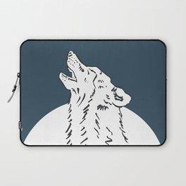 Pra Loup Howling Wolf Laptop Sleeve