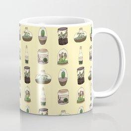 Terrarium pattern (yellow) Coffee Mug
