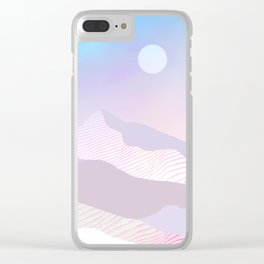 Dune Moon Clear iPhone Case
