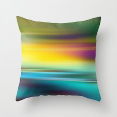 The Colors of the Sunset Throw Pillow