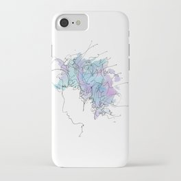 Bob Dylan/Watercolor iPhone Case