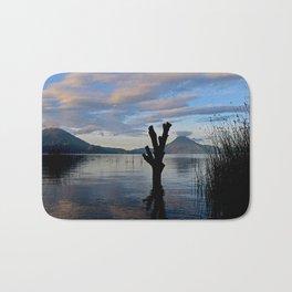 Sunrise at Lago Atitlan,Guatemala Bath Mat