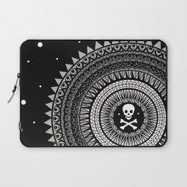 Space Skull & Bones Laptop Sleeve