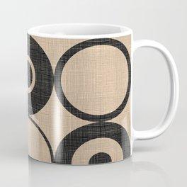 Black Orbs Coffee Mug