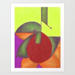Into the Green 2 Art Print