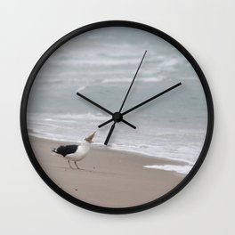 Too Much to Bite Wall Clock