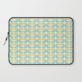 Trippy Wave Pattern Laptop Sleeve