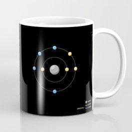 Oxygen Atomic Model Coffee Mug