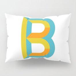 Letter B Pillow Sham