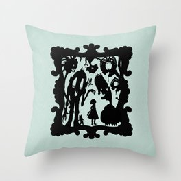 Henny Monsters Throw Pillow