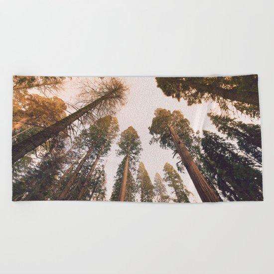 Sequoia Sunset Beach Towel