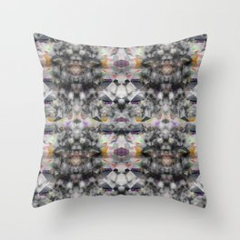 Bricolage of the Present(s) II Throw Pillow