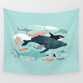 Under the Sea Menagerie Wall Tapestry