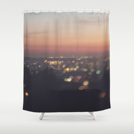 Los Angeles. Everyone's A Star No.2 Shower Curtain