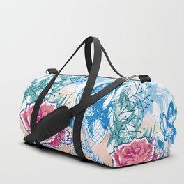 Blossoming rose Duffle Bag