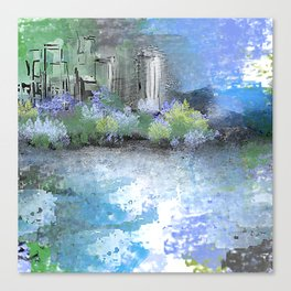 Spring Mornings Canvas Print